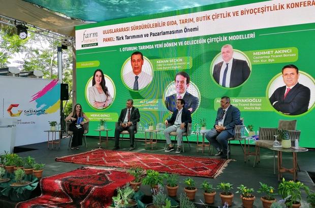 """GTB Yönetim Kurulu Başkanı Mehmet Akıncı: """"Tarım akıllı teknolojiyle kabuk değiştiriyor"""""""