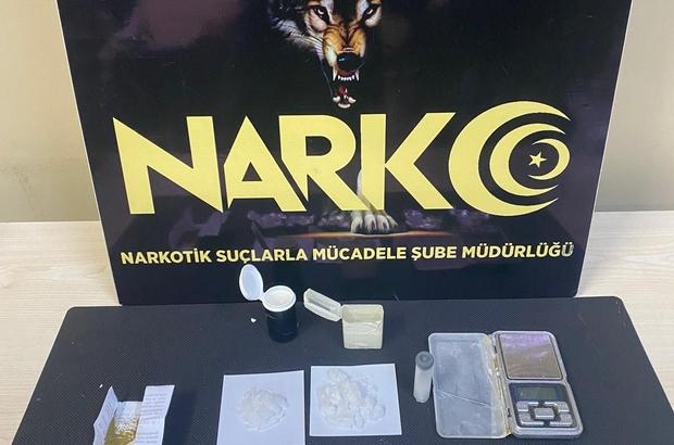 Şehir merkezinde uyuşturucu satan şahıs tutuklandı