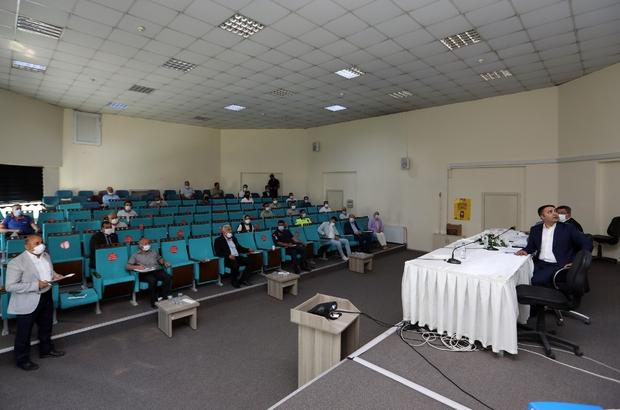 Van Büyükşehir Belediyesi Haziran Ayı UKOME Toplantısı yapıldı