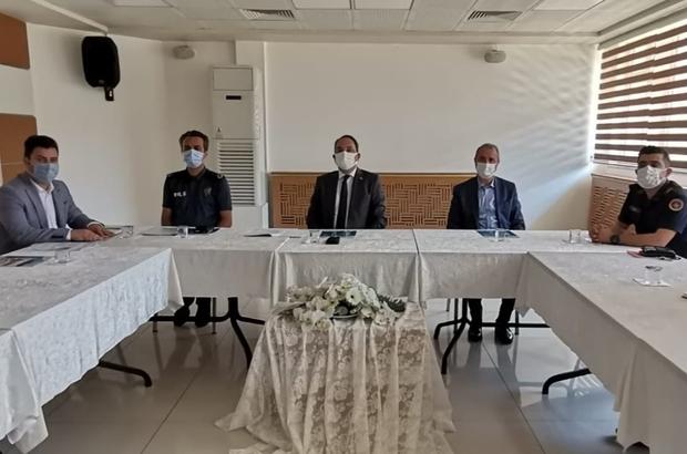 Bafra İlçe İdari Koordinasyon Toplantısı