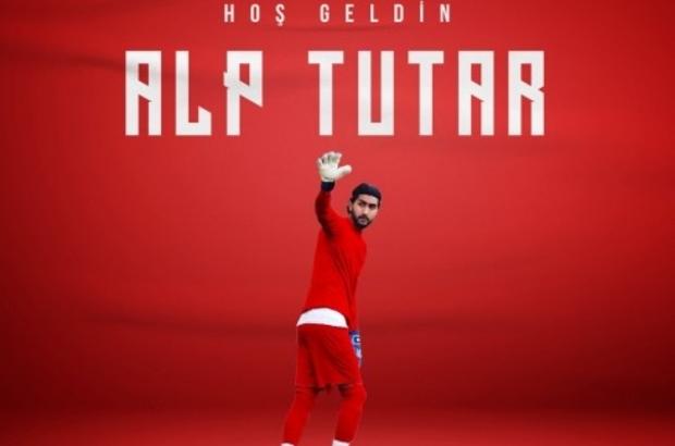 Samsunspor 5. transferi kaleye yaptı Kaleci Alp Tutar Samsunspor'da
