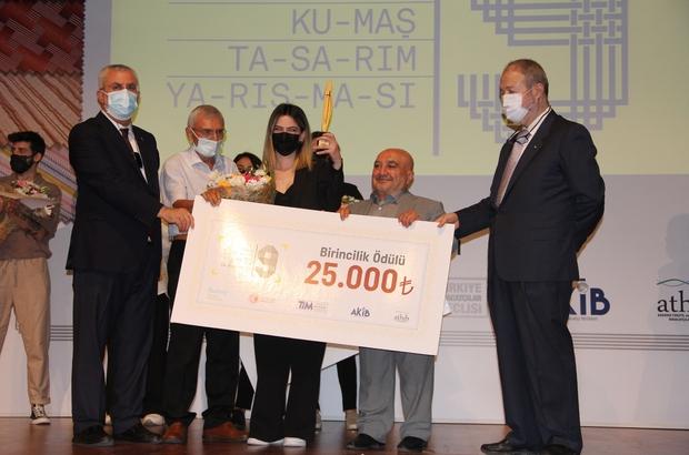 ATHİB 9. Dokuma Kumaş Tasarım Yarışmasında ödüller sahiplerini buldu 10 finalistin mücadele ettiği yarışmada, 'Mere' temasıyla Kübra Çolak birinci oldu