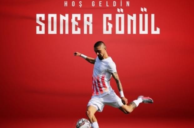 Soner Gönül Samsunspor'da Samsunspor 6. transferini sol beke yaptı