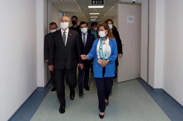 Vali Köşger'den İDÜ Sağlık Bilimleri Fakültesine ziyaret Vali Köşger, fakültede incelemelerde bulundu