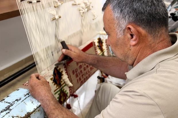 Türkiye'nin sayılı ustalarından, 35 yıldır bu işi yapıyor Sivas'ta yaşayan, 35 yıldır Halı ve Kilim Dokumacılığı Öğretmenliği yapan Hasan Fehmi Dönmez Sivas'ın tek, Türkiye'nin ise sayılı dokuma ustaları arasında yer alıyor
