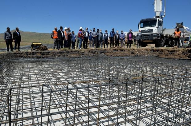 Erzurum'da 575 deprem konutunun temeli atıldı Vali Memiş: Kış mevsimi gelmeden hak sahiplerine teslim edilecek