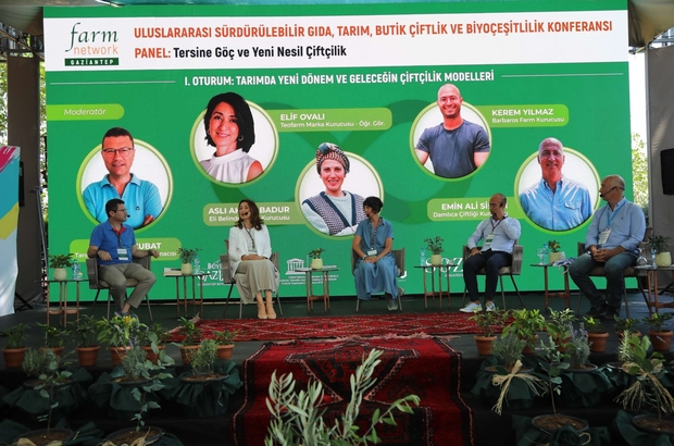 Farm Network ile tarımın kalbi Gaziantep'te attı
