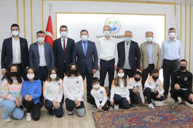 Kayseri Gençlik Ve Spor İl Müdürü'nden Başkan Öztürk'e teşekkür