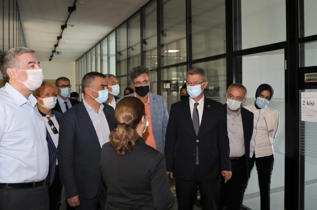 """KAYSO heyeti Kayseri Şeker'de Başkan Büyüksimitci: """"Kayseri Şeker'deki çalışmaları görünce moral bulduk"""""""