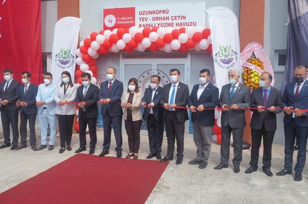 Edirne'nin en büyük spor kompleksi açıldı