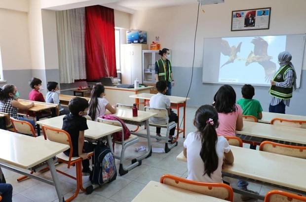 Öğrencilere tabiatın korunması eğitimi