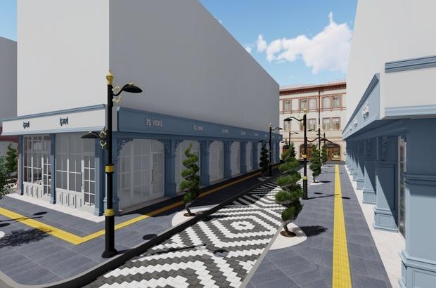 İpekyolu Belediyesi kent merkezini güzelleştirmeye devam ediyor