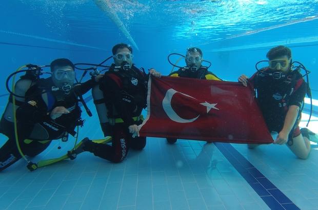 Şanlıurfa'da tüplü dalış dönemi Tüplü dalışla hem boğulma vakalarının önüne geçilmesi hem de dalış turizminin geliştirilmesi amaçlanıyor