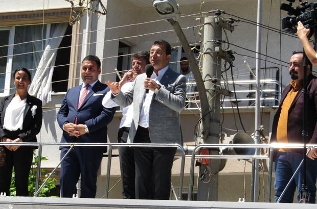 İstanbul Büyükşehir Belediye Başkanı İmamoğlu'ndan Gölbaşı'na ziyaret