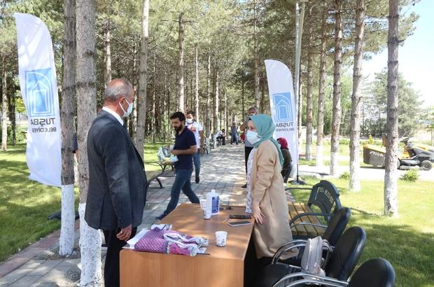 Tuşba Belediyesinden aşı kampanyasına destek
