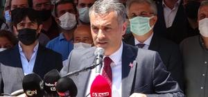 """Yomra Belediye Başkanı Bıyık ilçesinin isminin olaylarla gündeme gelmesinden rahatsız Trabzon'un Yomra Belediye Başkanı Mustafa Bıyık: """"Artık Yomra halkı burada toplanarak 'bıktık sizden' diyor; ilçeyi kendi haline bırakın"""""""
