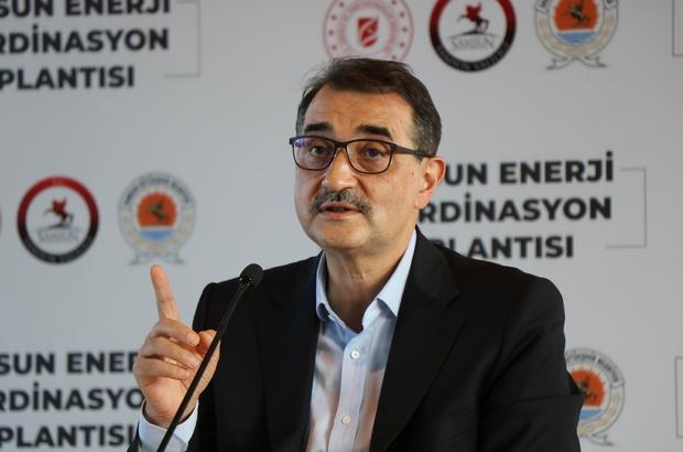 """Bakan Dönmez: """"Karadeniz sahil kentlerinde karada da sismik aratmaları başlatıyoruz"""""""