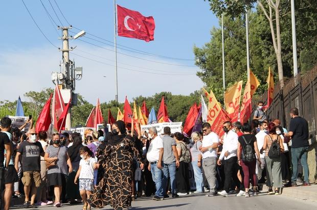 HDP İl Binasındaki saldırıda ölen Deniz Poyraz'ın cenazesinde kısa süreli gerginlik İzmir HDP İl Başkanlığında öldürülen Deniz Poyraz defnedildi