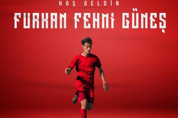 Samsunspor'dan 7. transfer Furkan Fehmi Güneş Samsunspor'da