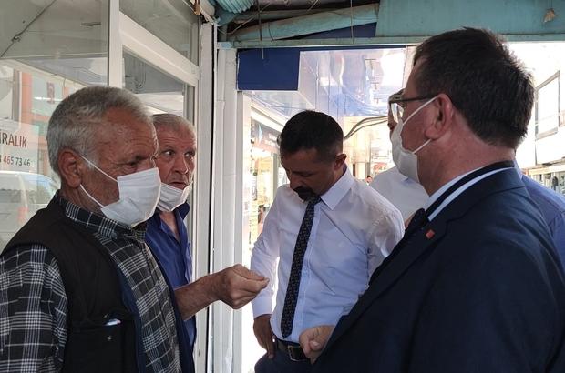 """Gaziantep'te CHP'li belediye başkanlarına HDP tepkisi """"HDP'lilerden vazgeçin, asker öldürenlerle siz de gidip orada konuşuyorsunuz ayıptır, günahtır vatan hainliği bu"""""""