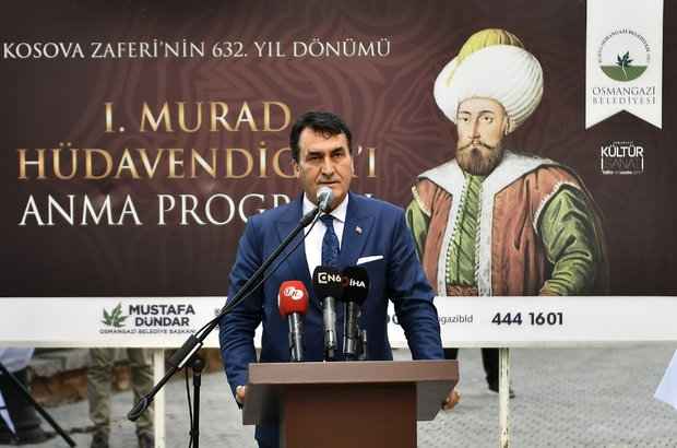Murat Hüdavendigar, Kosova'dan sonra Bursa'da da anıldı