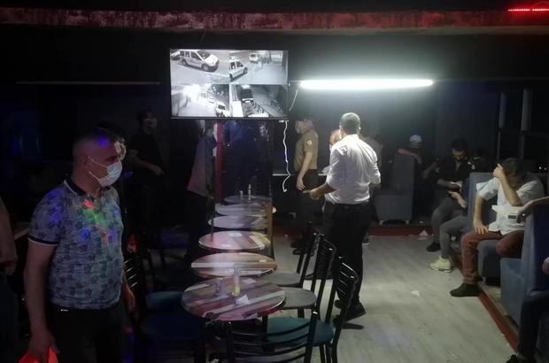 Bursa'da eğlence mekanına baskın, 81 bin 900 TL ceza kesildi