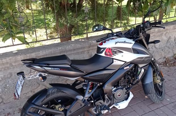 Park halindeki motosiklet çalındı