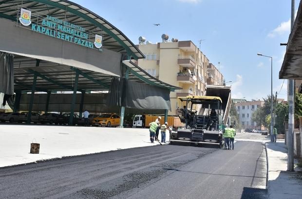 Tarsus Belediyesi, asfalt çalışmalarına hız verdi