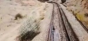 Tirenin çarptığı kadın hayatını kaybetti O anlar kamerada