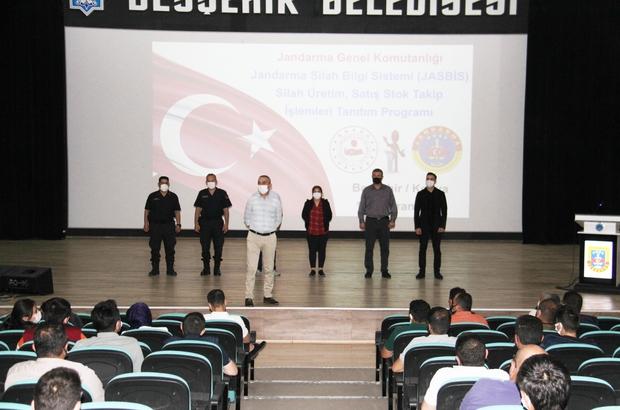 Konya'da silah üreticilerine ve av bayilerine JASBİS eğitimi