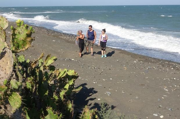 """Koruma Altına alınan Alata Sahili'nde deniz kaplumbağaları güvende DEKUYAM Müdürü Prof. Dr. Serap Ergene: """"Alata Sahili 2 tür deniz kaplumbağası açısından çok çok önemli bir alanı oluşturuyor"""" """"Nesli tükenmekte olan canlıların hayatını devam ettirmesi için bu alanlar büyük önem taşıyor"""""""