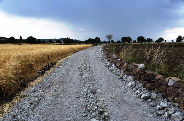 Yunusemre Belediyesinden  Pelitalan Mahallesine yol çalışması
