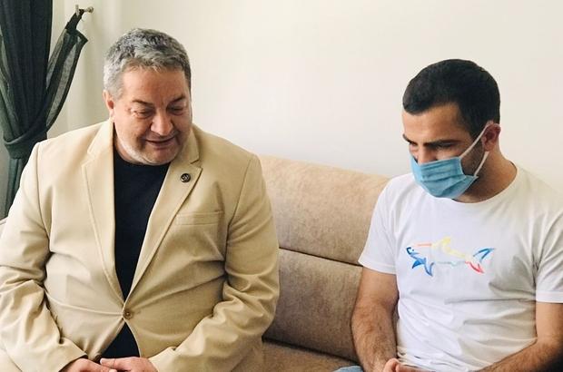 Fendoğlu'ndan Gazi Fırtına'ya ziyaret