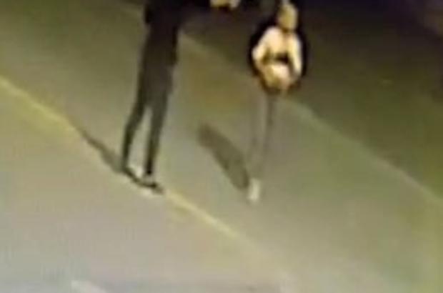 Magandanın 16 el ateş edip 2 günlük gelini boynundan vurduğu anlar ortaya çıktı Magandanın trafikte tartıştığı ve içerisinde 2 kişinin bulunduğu araca peş peşe ateş ettiği anlar güvenlik kameralarına yansıdı