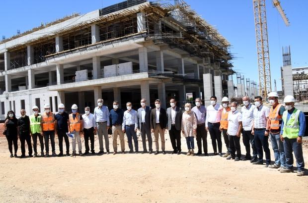 Kadın doğum hastanesi inşaatı hızla yükseliyor