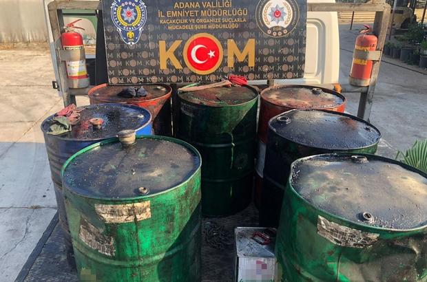 Adana'da kaçakçılık operasyonu 4 bin 600 litre akaryakıt, bin 180 paket sigara, 960 litre sahte içki ve 858 adet cinsel ürün ele geçirildi, 8 kişi gözaltına alındı