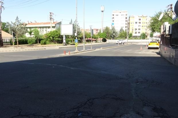 Diyarbakır'da hafta sonu kısıtlamada cadde ve sokaklar boş kaldı