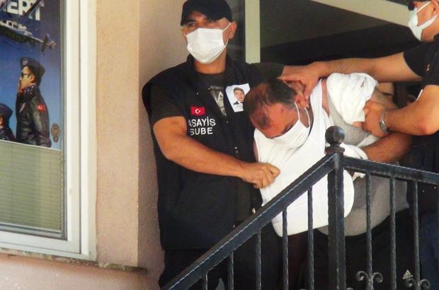 Polis katillerinin sevkinde dikkat çeken detay Şehit polisin katil zanlıları adliyeye sevk edildi
