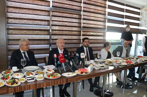 """CHP Genel Başkanı Kılıçdaroğlu Kılıçdaroğlu: """"HDP Genel Başkanı 'İttifak yapmayacağız' dedi"""" CHP Genel Başkanı Kılıçdaroğlu, Gaziantep'te gazetecilerle buluştu"""