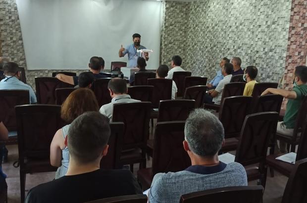 Diyarbakır'daki gazetecilere drone eğitimi