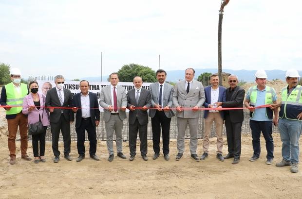 Sarıgöl'e 30 milyonluk çevreci tesisinin temeli atıldı