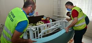 Yıldırım Belediyesinden hastalara yardım eli