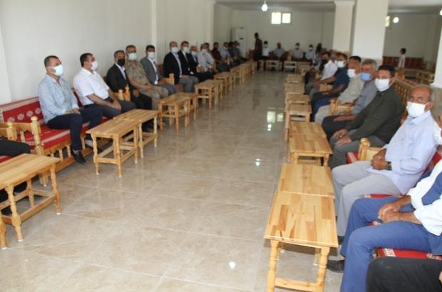 Kaymakam Türkmen vatandaşlarla bir araya gelmeye devam ediyor