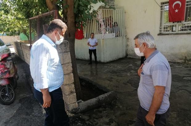 Milletvekili Fırat, Şehit babasının Babalar Günü'nü kutladı