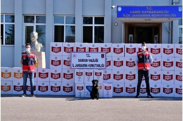Samsun'da kaçak makaron operasyonu: 33 gözaltı Milyonlarca bandrolsüz makaron ele geçirildi