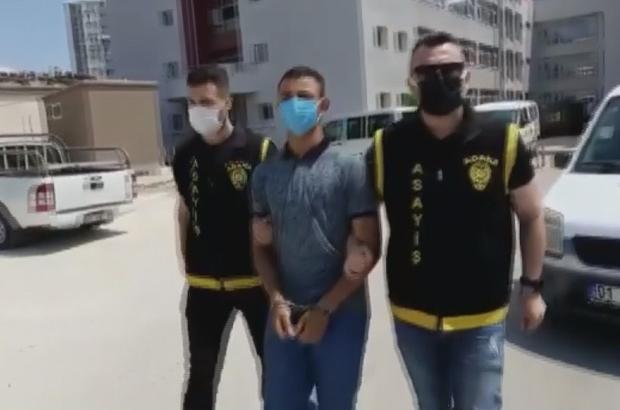 Cep telefonu kapkaççısı tutuklandı Adana'da iki kişinin cep telefonunu görüşme yapma bahanesiyle çaldığı öne sürülen zanlı saklandığı yerde yakalandı