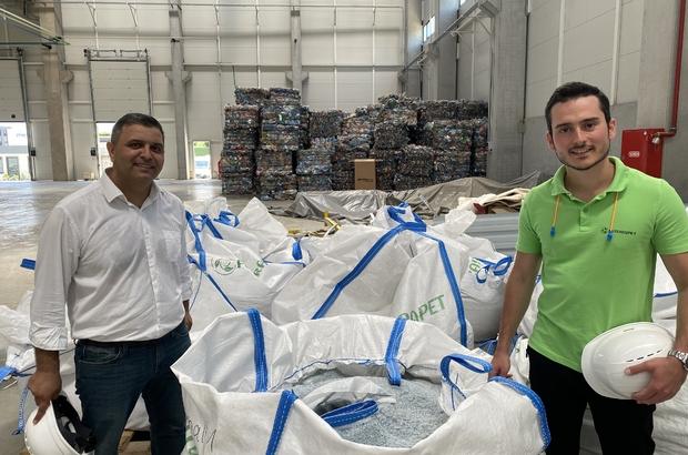 Günde 6 milyon pet şişe, geri dönüşüme kazandırılıyorSaatte 150 ton su kullanılırken, tamamı geri dönüşüme gidiyor