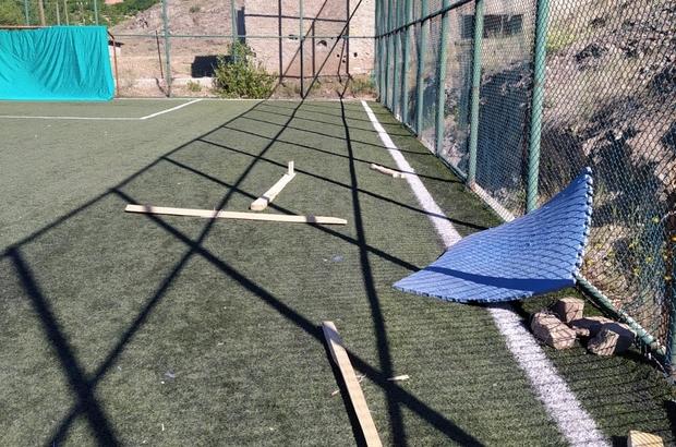 """Köy okulunda açıldı, malzemeler tahrip edildi Sivas'ın Gürün ilçesinde köy okuluna açılan  """"Geleneksel Türk Okçuluğu"""" kursuna ait malzemeler kimliği belirsiz kişiler tarafından tahrip edildi"""