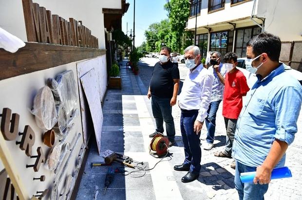 """Tarihi Yeşilyurt Konakları kapılarını misafirlerine açmaya hazırlanıyor Yeşilyurt Belediye Başkanı Mehmet Çınar: """"24 ve 25 Haziran'daki etkinliklerimize tüm halkımızı davet ediyoruz"""""""