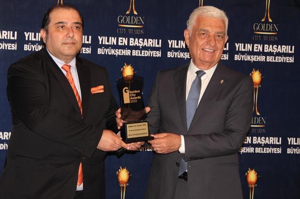 Muğla'ya 'Altın Kent' ödülü Muğla Büyükşehir Belediyesi Uluslararası Altın Kentler Derneği'nin düzenlediği 'Altın Kent' temasında 30 Büyükşehir içinde birincilik ödülü aldı.